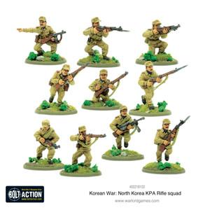 Bolt Action: North Korean KPA Rifle Squad