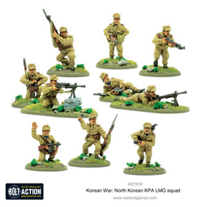 Bolt Action: North Korean KPA LMG Squad