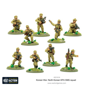 Bolt Action: North Korean KPA SMG Squad