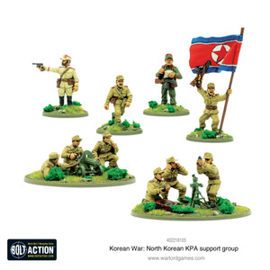 Bolt Action: North Korean KPA Support Squad