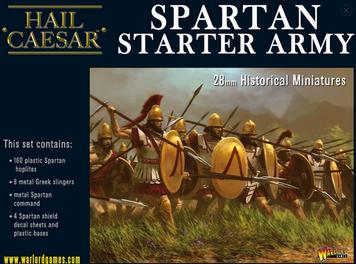 Hail Caesar: Spartan Starter Army