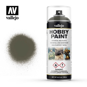 Vallejo Hobby Paint (Spray) - Russian Green 4BO