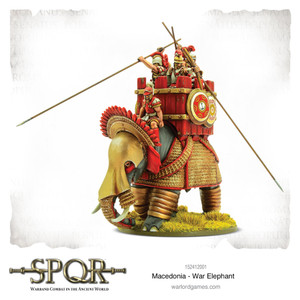 SPQR: Macedonian War Elephant