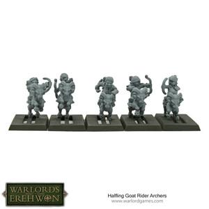 Hobbit / Halfling Goat Rider Archers