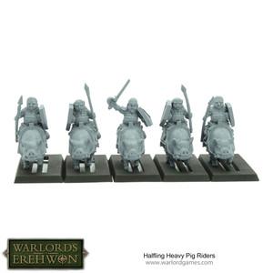 Hobbit / Halfling Heavy Pig Riders