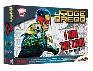 Judge Dredd: I Am The Law - Starter Set