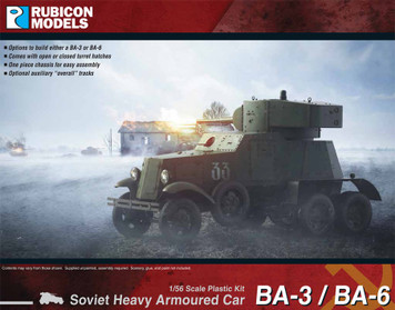 BA-3 / BA-6 Soviet Heavy Armored Car