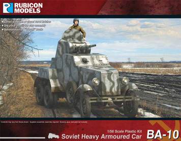 BA-10 Soviet Heavy Armored Car