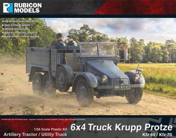 Krupp Protze Kfz 69/70 6x4 Truck