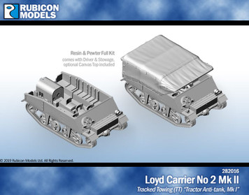 Rubicon Models Loyd Carrier No 2 Mk II - Resin