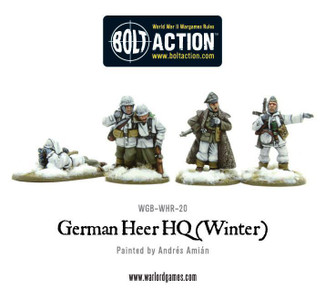 Bolt Action: German Heer/SS HQ, Winter