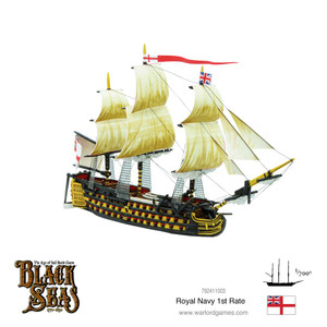 Black Seas: Royal Navy First Rate