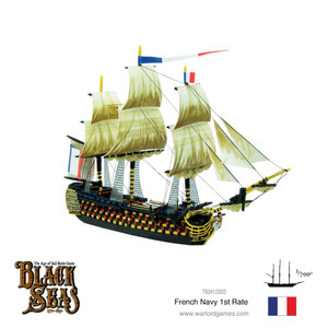 Black Seas: French Navy First Rate