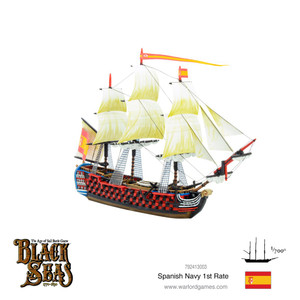 Black Seas: Spanish Navy First Rate