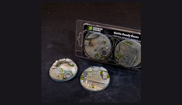 Battle Ready Bases: Urban Warfare Bases Round 60mm (x2)