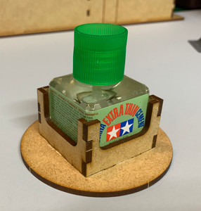 Anti-Spill Bottle Holder - Tamiya Square