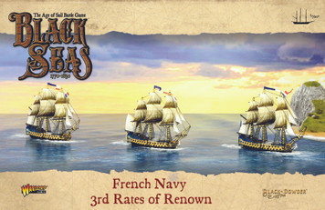 Black Seas: French Navy 3rd Rates of Renown
