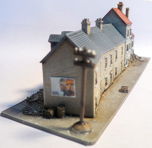 6mm Long Block of Buildings - 285VAC003