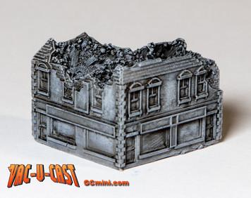 Ruined Corner Building - 285VAC004