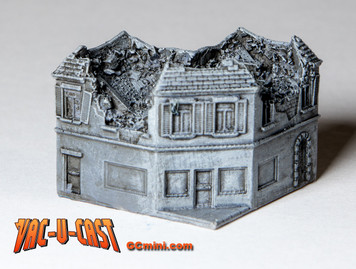 Ruined Corner Building - 285VAC005