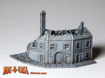 Ruined Corner Building - 285VAC006