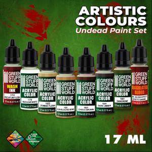 Green Stuff World: Paint Set - Undead