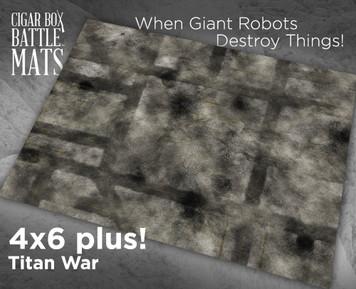Battle Mat - Titan Storm