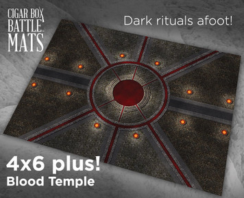 Battle Mat - Blood Temple