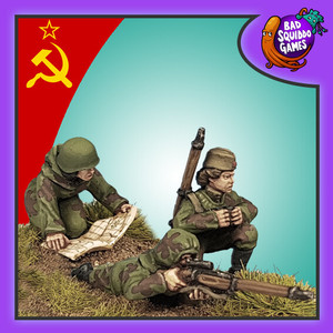 Soviet Female Scouts A (Sniper Set)