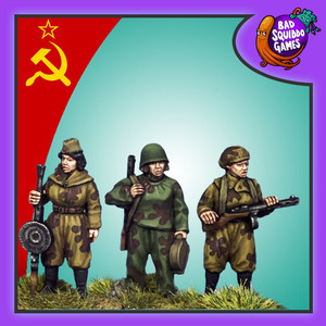 Soviet Female Scouts B (smg, lmg set)