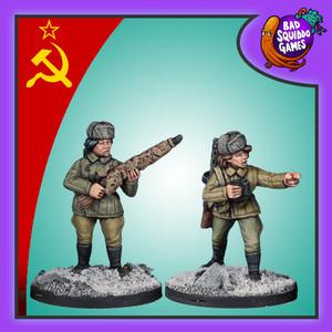 Soviet Female Sniper Team (Winter)