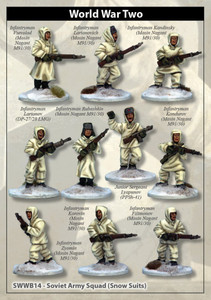 Soviet Army Squad (Snow Suits)