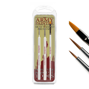 Army Painter - Wargamers Most Wanted Brush Set