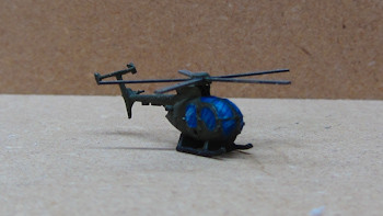 OH-6A Cayuse with mini-gun (2/pk)  - AC11