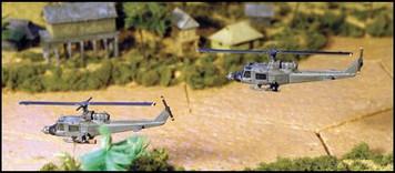 UH 1B Huey Gunship (2/pk) - AC58