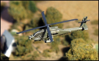 AH-64A Apache Helicopter (1/pk) - AC23