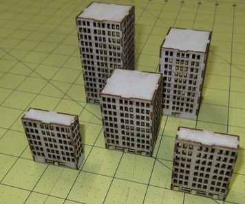 Tall City Buildings - 3MMCSS031