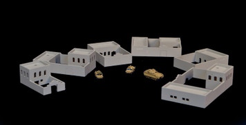 Afghan Style Walled Compounds (Acrylic) - 285ACR021