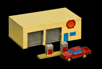 Gas Station (No Base) (Resin) - 285MEV047