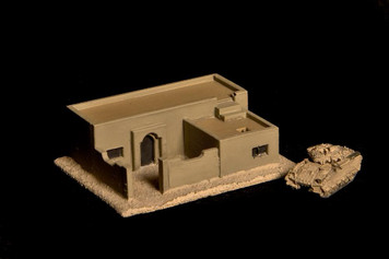 Small Walled Residence  (Resin) - 285MEV016