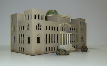 6mm WWII Government Building - 285CSS034-2