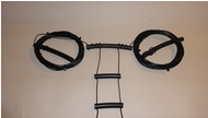 15-10 Meter W7FG True Ladder Line Open Wire Fed Dipole 22' Dipole 50' Feedline