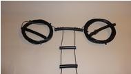 15-10 Meter W7FG True Ladder Line Open Wire Fed Dipole 22' Dipole 100' Feedline