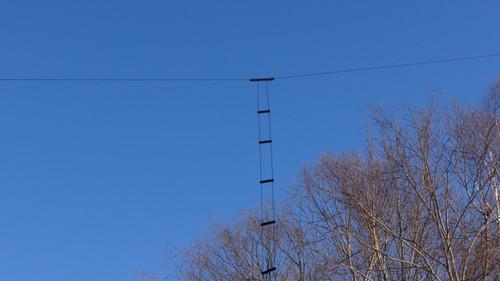 W7FG True Ladder Line Open Wire Fed Dipole