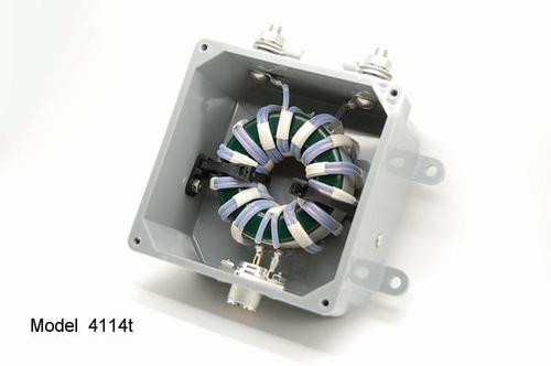 Model 4114 - 4:1 Current Balun 1.5 - 54MHz 5kW