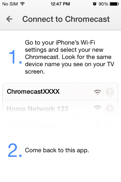 How to Install and Setup Chromecast on your iPhone, iPad or