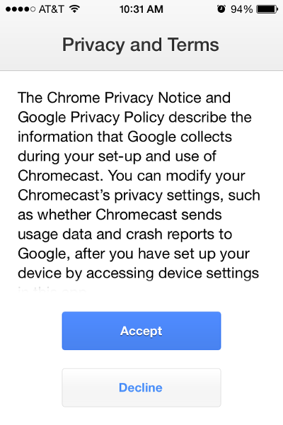 How to Install and Setup Chromecast on your iPhone, iPad or iPod Touch
