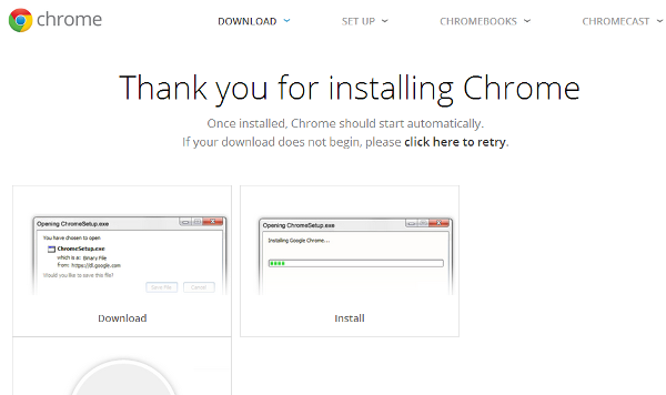 Installing Chromecast on Windows
