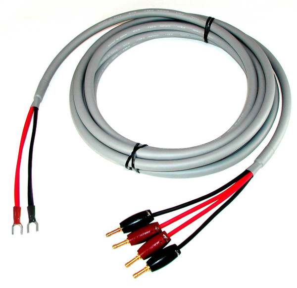 custom bi-wire speaker cable