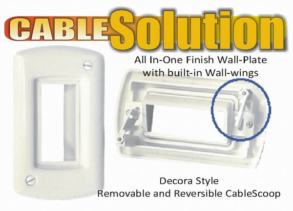 Powerbridge Cable Solution Wall Plate